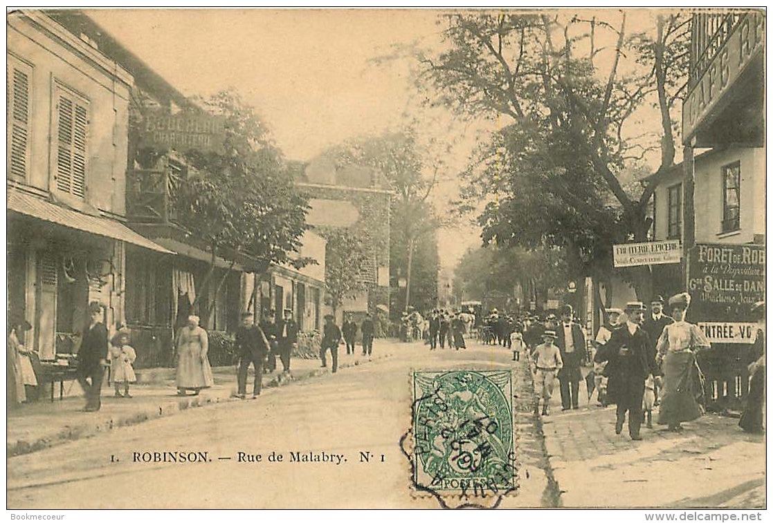 92   ROBINSON  RUE DE MALABRY  N°1 - Francia