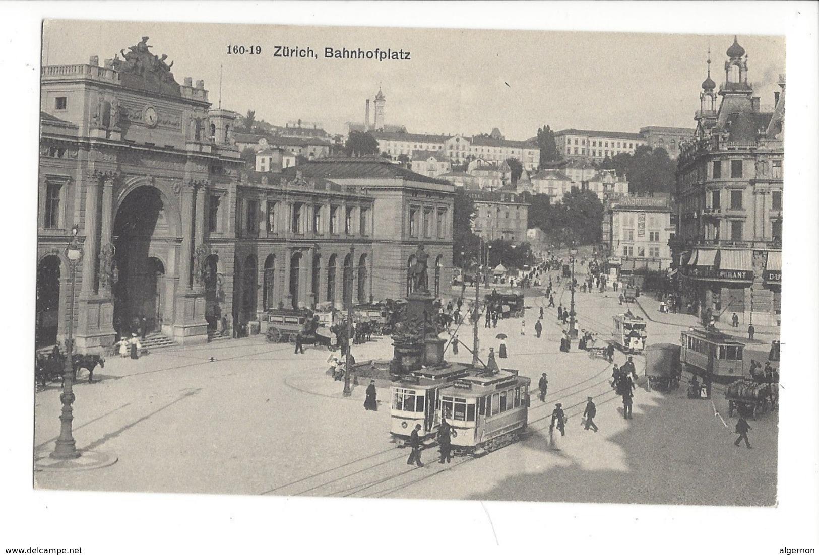 15695 - Zürich Bahnhofplatz Tramway - ZH Zurich