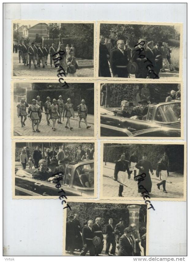 Kraainem : Installation Du Réverend Curé 1956  ( 7 Oude Foto´s  10 X 7 Cm Gevaert ) - Kraainem