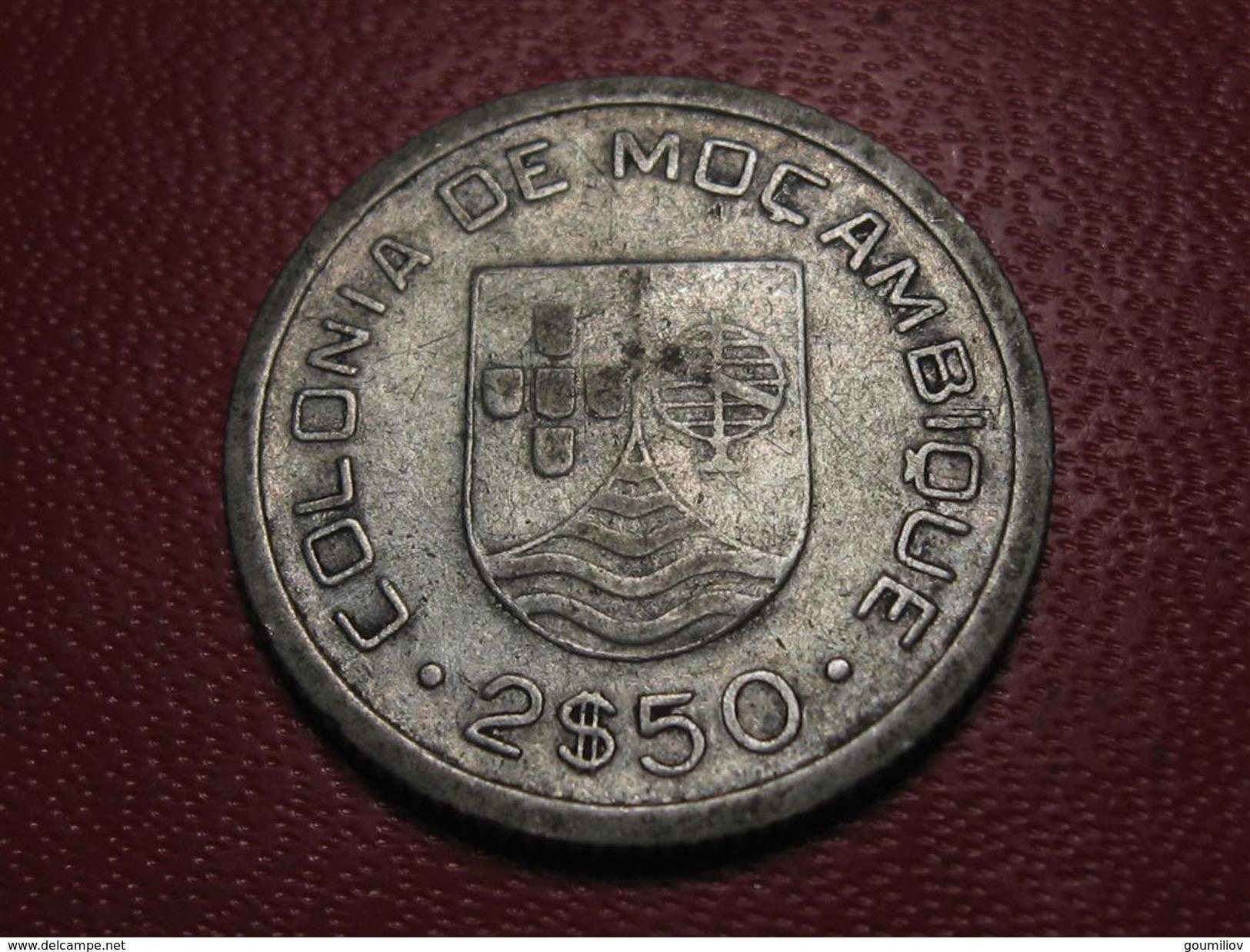 Mozambique Portuguais - 2,5 Escudos 1935 7007 - Mosambik