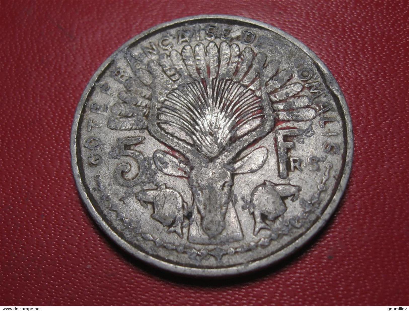 Somalis - 5 Francs 1948 6910 - Somalia