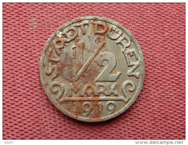 ALLEMAGNE Jeton De Duren 1/2 Mark - Monétaires/De Nécessité