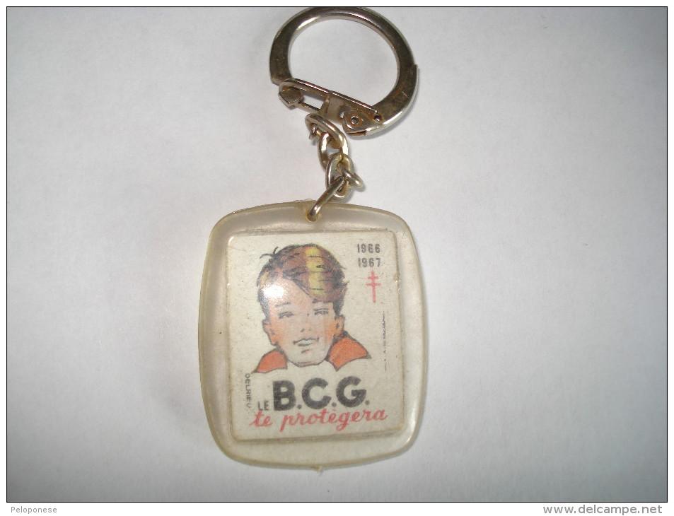 PORTE CLEFS ---  LE BCG Le Protégera - COMITE NATIONALE De DEFENSE - TUBERCULOSE - Porte-clefs