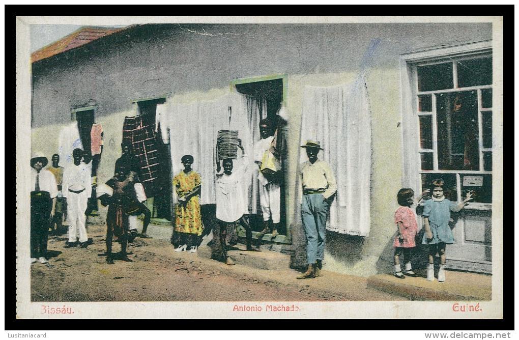 BISSAU - António Machado.   Carte Postale - Guinea-Bissau