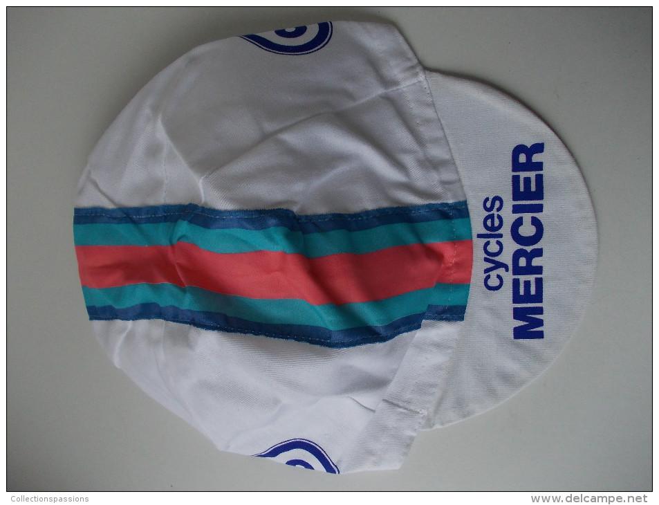 - CYCLISME -Tour De France - Ancienne Casquette. Cycles Mercier. Coop - - Casquettes & Bobs