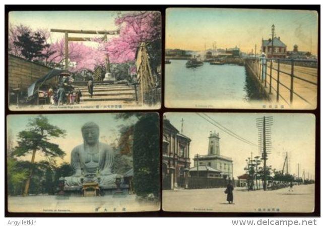 JAPAN YOKOHAMA POSTCARDS - Yokohama