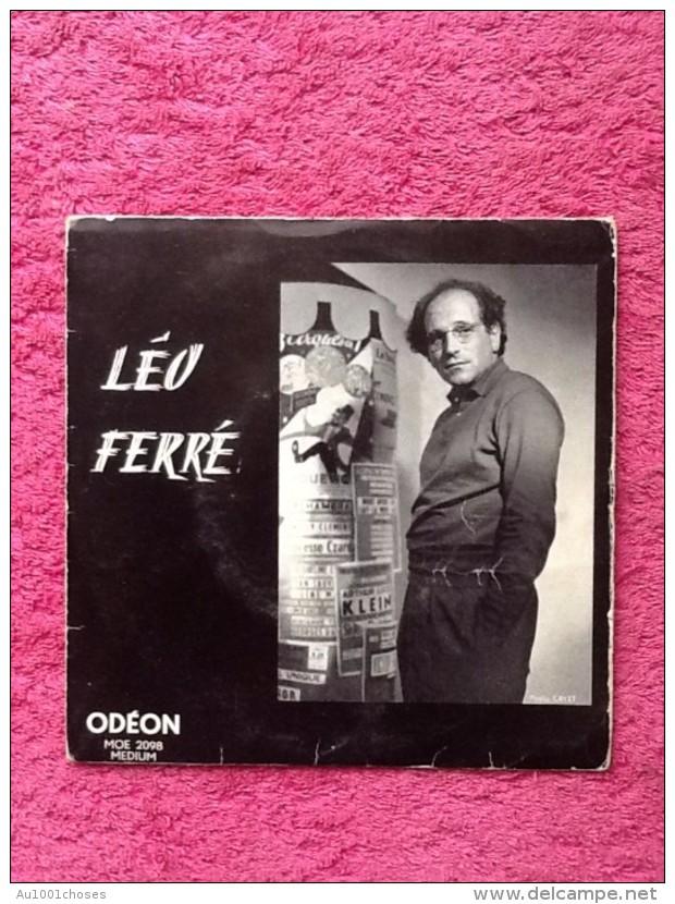Vinyle 45 Tours Léo Ferré Vitrines 1961 - Zonder Classificatie