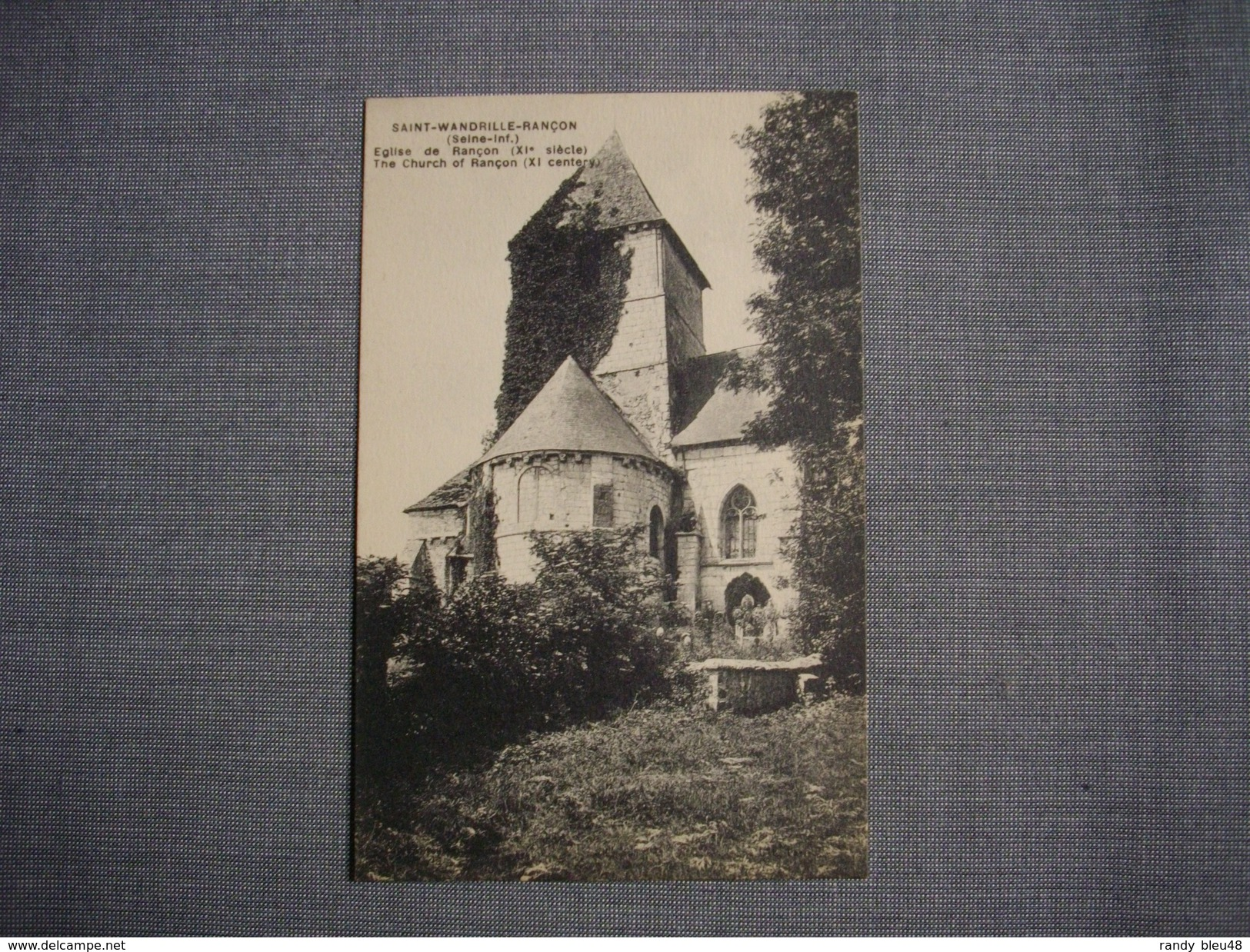 SAINT WANDRILLE RANCON  -  76  -  Eglise De Rancon  -  Seine Maritime - Saint-Wandrille-Rançon