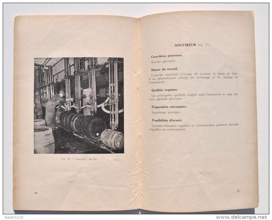 Bière : INDUSTRIE De La BRASSERIE - Brochure Education Professionnelle Année 1952 - Autres