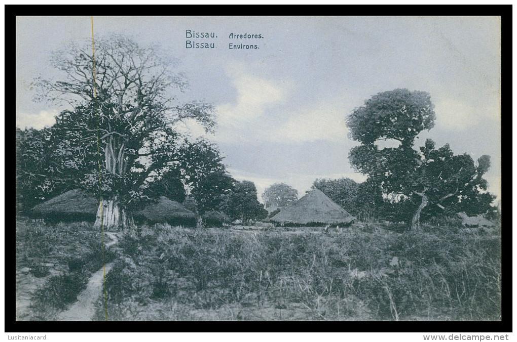 BISSAU - Arredores  Carte Postale - Guinea-Bissau