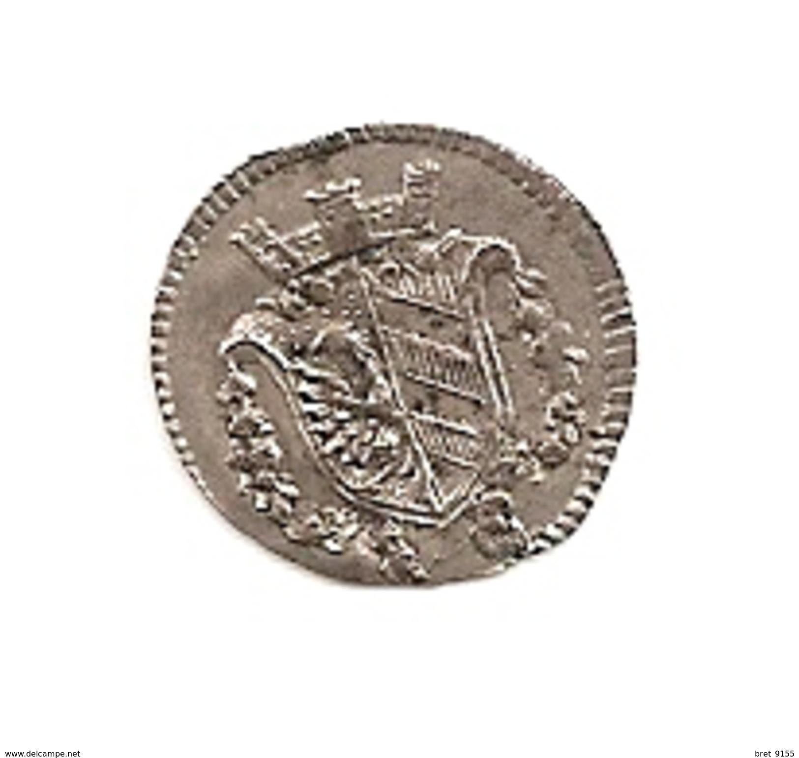 MONNAIE PIECE DE 1 KREUSER 1796  DE L ETAT ALLEMAND DE NUREMBERG KM 389  EN BILLON - [ 1] …-1871 : Etats Allemands