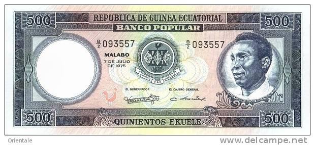 EQUATORIAL GUINEA P. 12 500 E 1975 UNC - Guinée Equatoriale