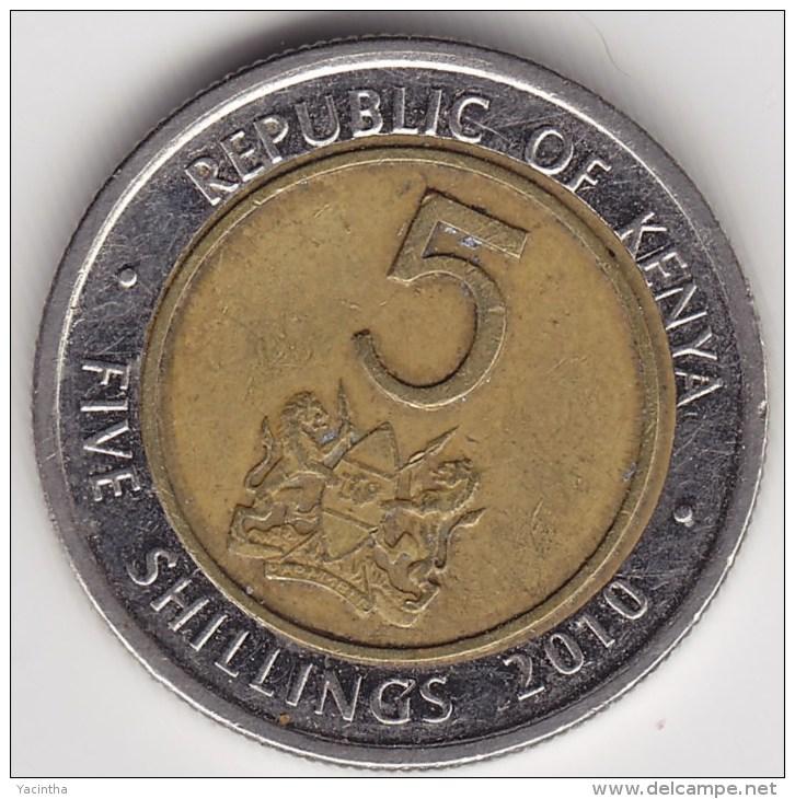 @Y@     Kenia  5 Shilling   2010     (3146) - Kenya