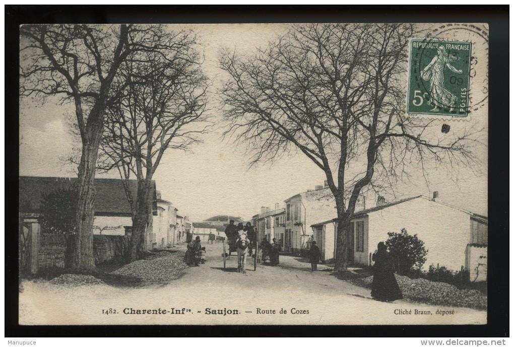 Saujon Route De Cozes - Saujon
