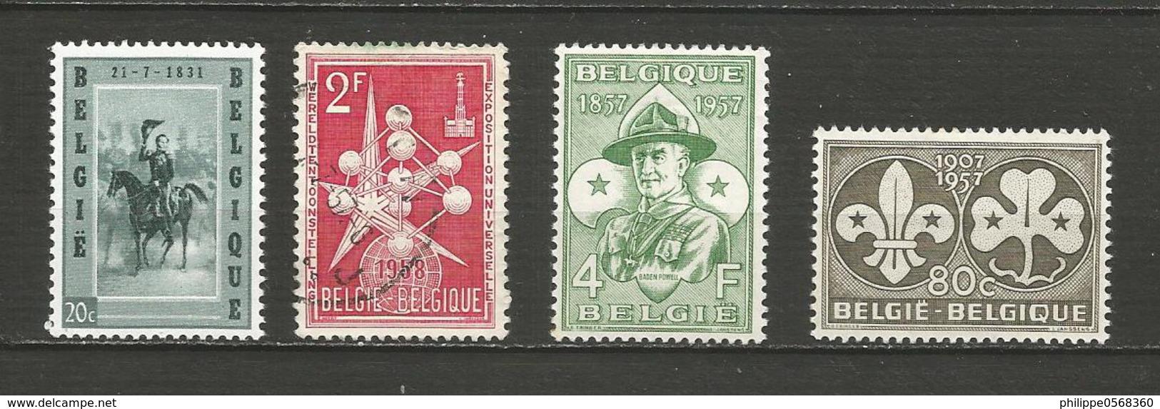 Petit Lot Année 1957 - Belgium