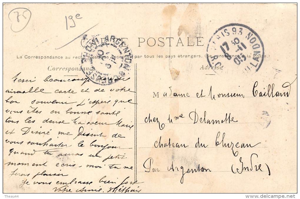 ¤¤  -    PARIS  -  Station Allemagne  -  Le Métropolitain   -  ¤¤ - Arrondissement: 19