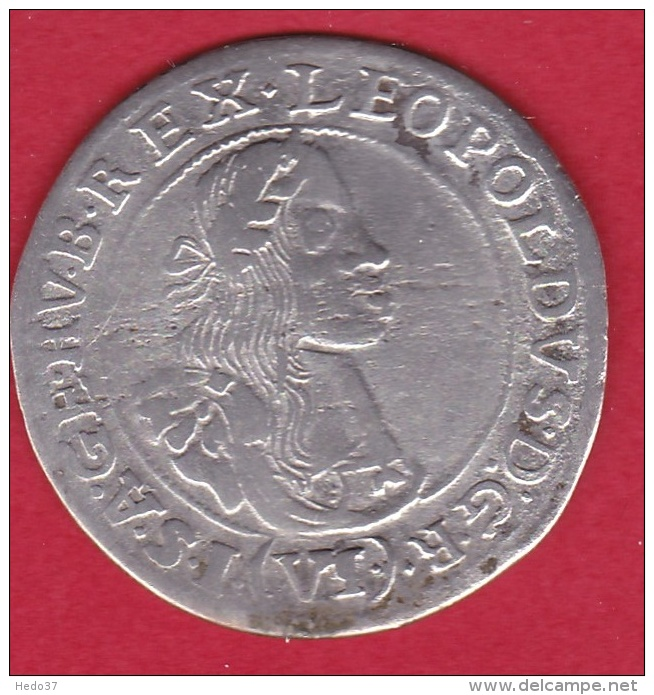 Autriche - Léopold 1er - 1667 - Argent - Autriche