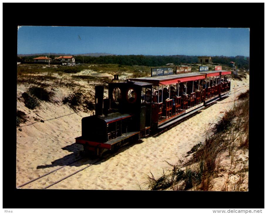 33 - CAP-FERRET - Plage - Petit Train - Train Touristique - France