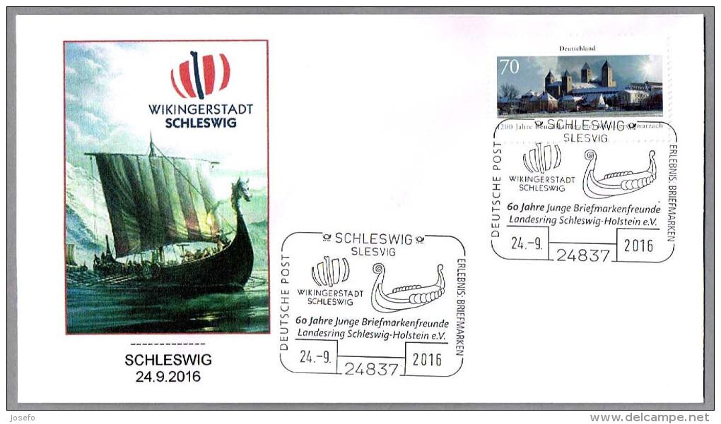 BARCO VIKINGO - VIKING SHIP - DRAKKAR. Schleswig 2016 - Boten
