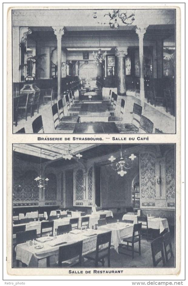 Cpa Clermont Ferrand - Brasserie De Strasbourg ...     ((S.335)) - Clermont Ferrand