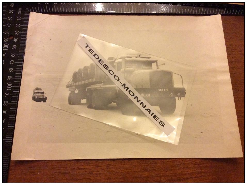 Photo Camion Berliet - Automobiles