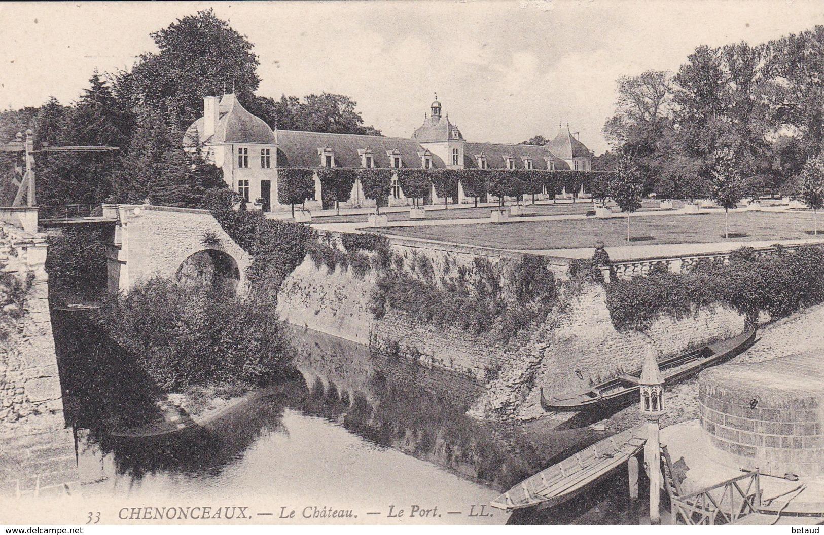 Chenonceaux - Le Château - Le Port - Chenonceaux