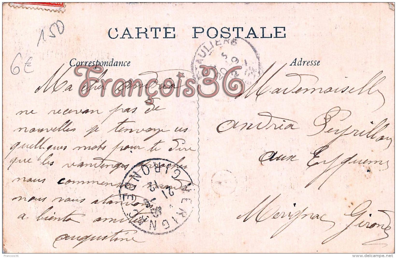 (49) Maine Et Loire ANGERS - Circuit D'Anjou Aviation Aero Club 1912 : Pilote Divetain Monoplan Ladougne - Automobiline - Angers