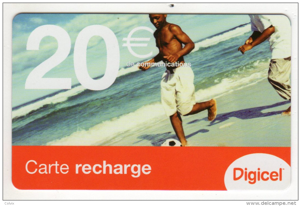 GUYANE RECHARGE DIGICEL 20€ Date 07/2007 - Guyane
