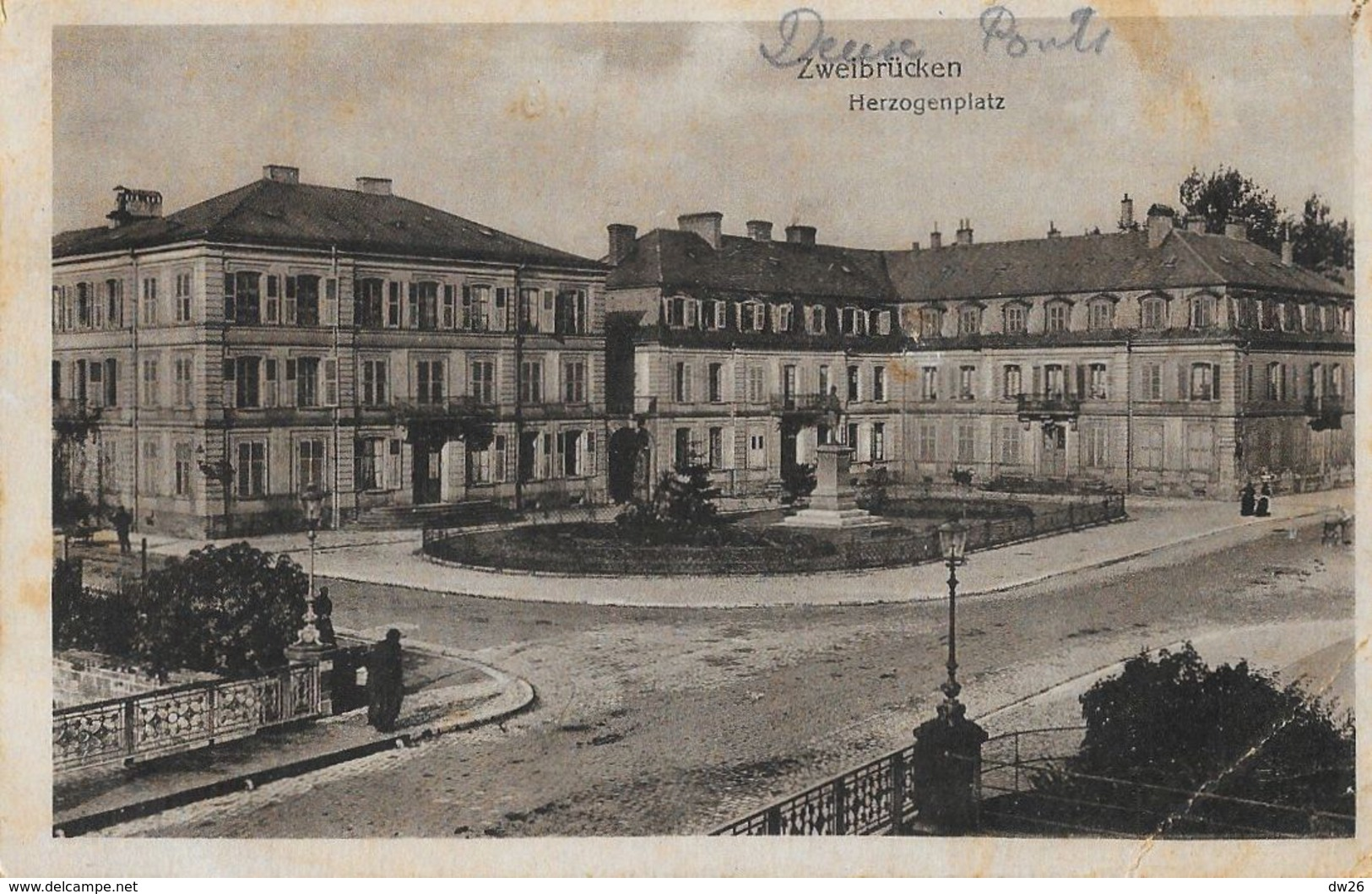 Zweibrucken (Deux-Ponts) - Herzogenplatz - Zweibruecken