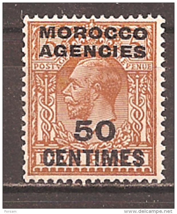GREAT BRITAIN (MOROCCO AGENCIES)..1925..Michel # 216...MNH. - Morocco Agencies / Tangier (...-1958)
