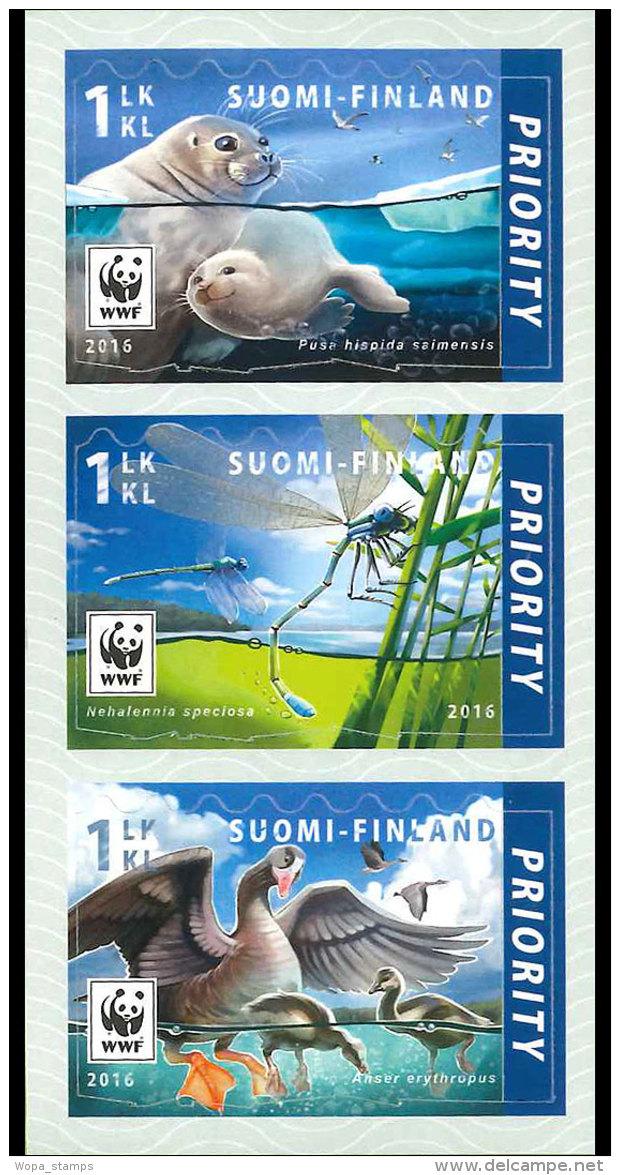 Finland 2016 Set - Endangered Species I - Neufs