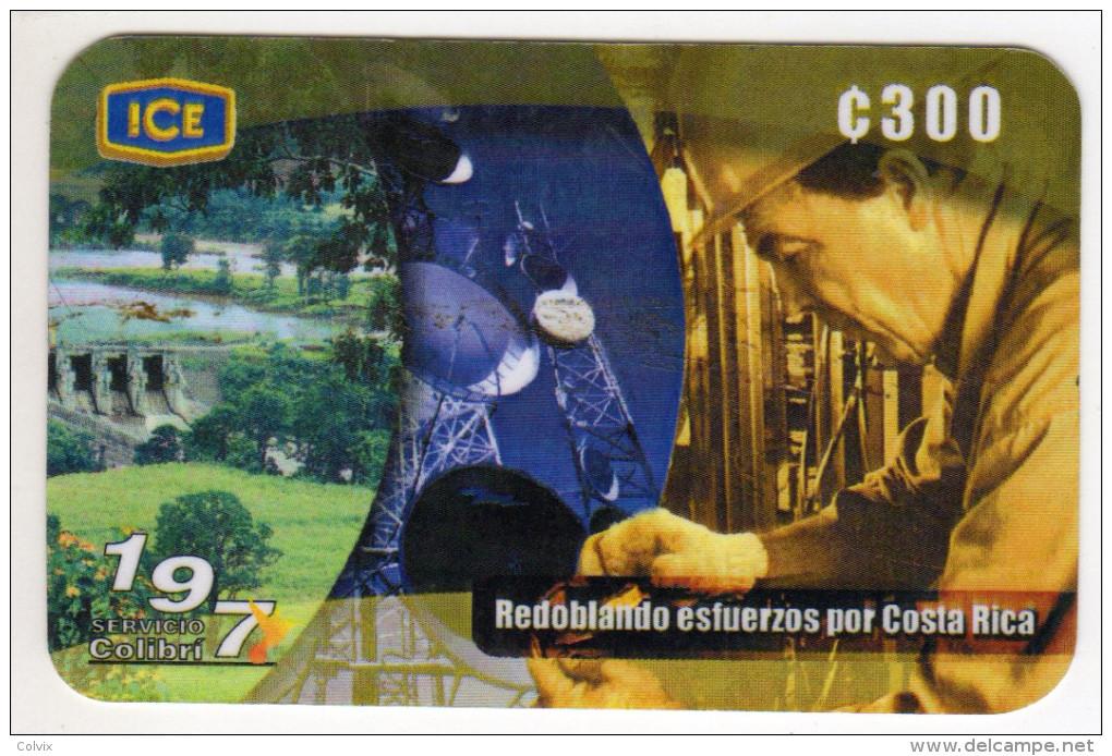 COSTA RICA RECHARGE ICE 09/2001 - Costa Rica