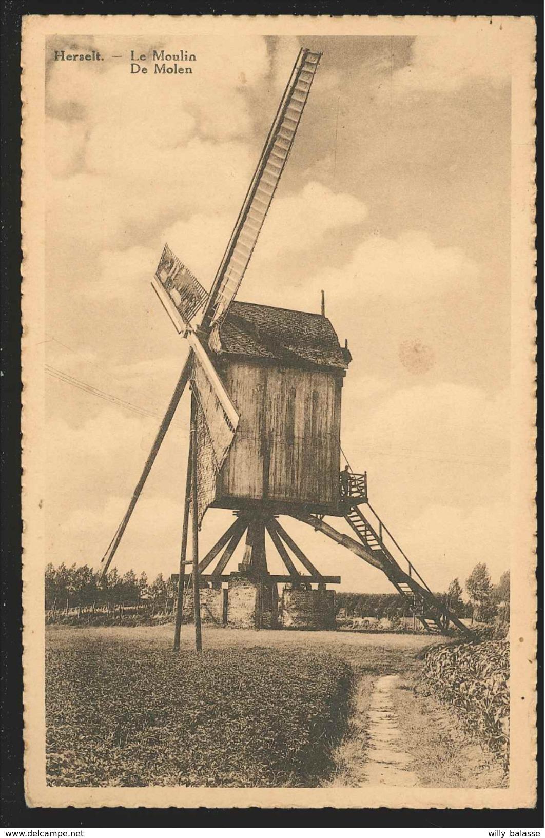 +++ CPA - HERSELT - De Molen - Le Moulin   // - Herselt