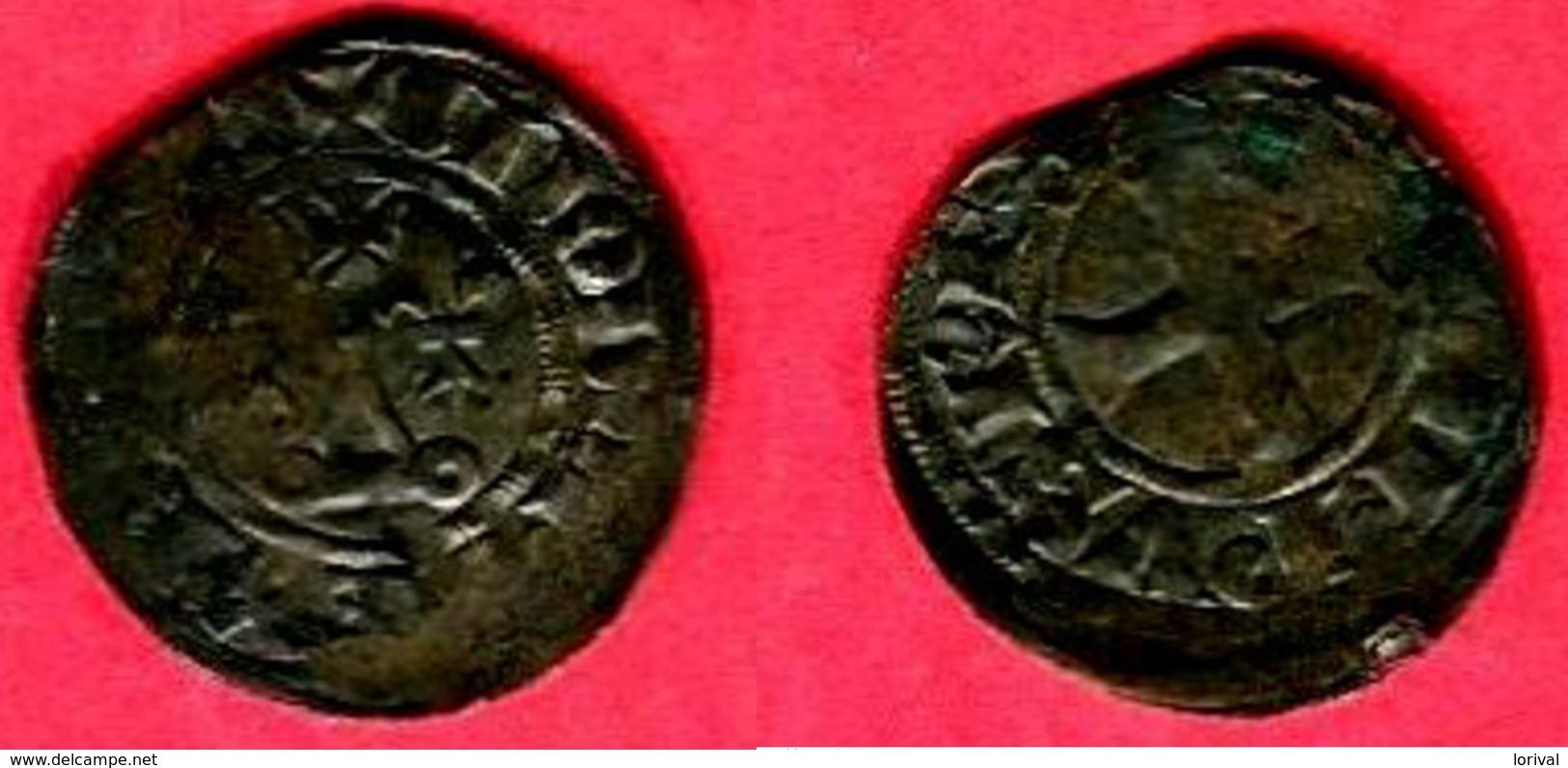 § DOUBLE TOURNOIS   (CI 218  )TB+  22 - 987-1789 Monete Reali