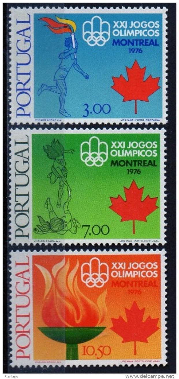PIA - PORTOGALLO  - 1976  : XXI° Giochi Olimpici Di Montréal  - (Yv 1299-1301) - Estate 1976: Montreal
