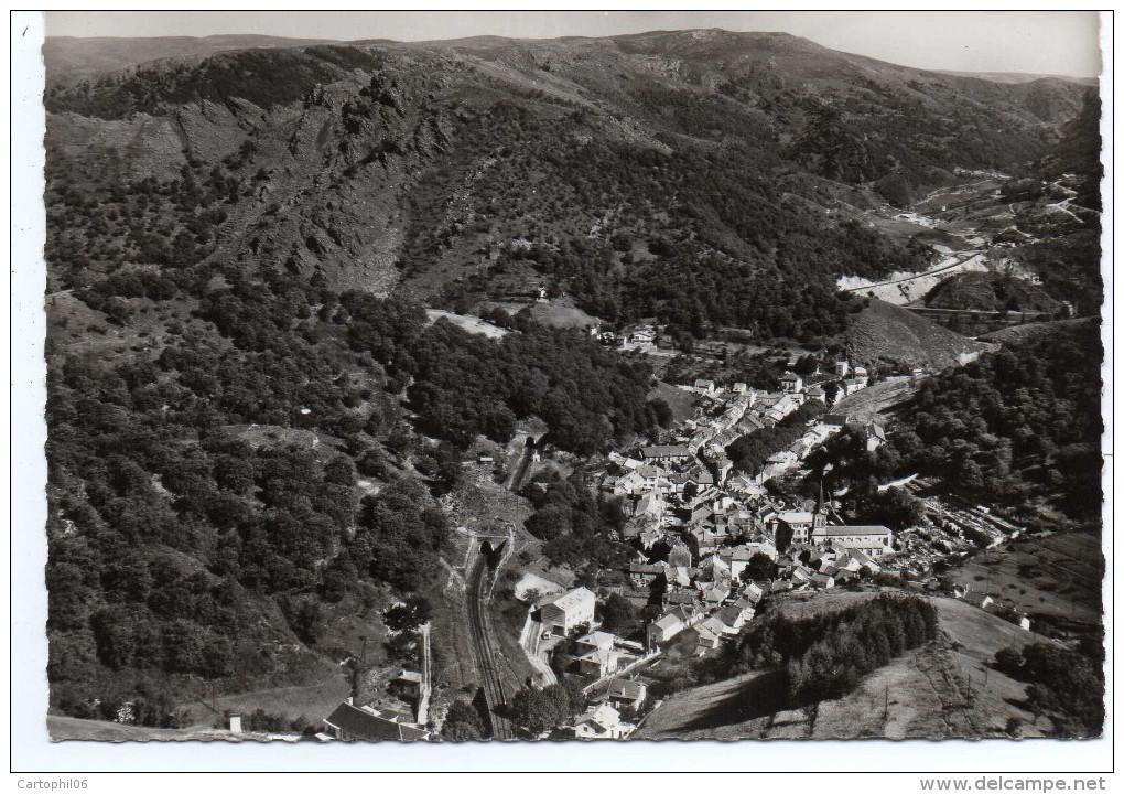 - FRANCE (48) - CPM Vierge VILLEFORT - La Ville Dans Son Cadre De Montagnes (vue Aérienne) - Editions CELLARD Z. 727 - - Villefort