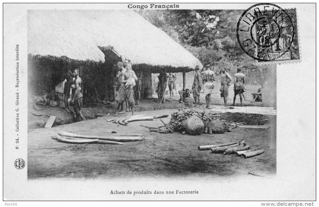 2 Cpa Du Congo Francais -pas Voyagées-beaux Plans - French Congo - Other