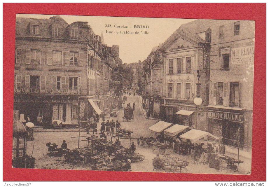 Brive --  Rue De L Hôtel De Ville  --  Pliure Centrale - Brive La Gaillarde