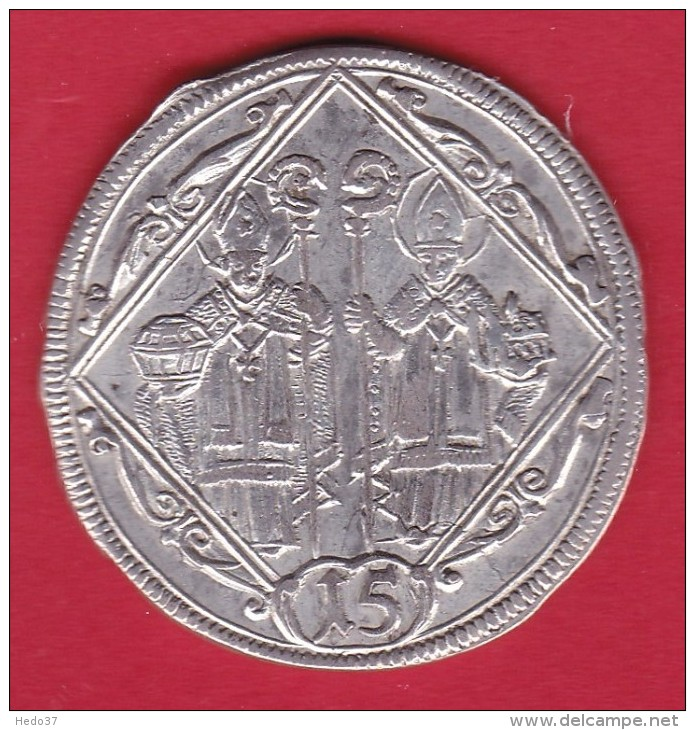 Autriche - Salzbourg - 15 Kreuzer 1694 - Argent - Léger Voile - Autriche