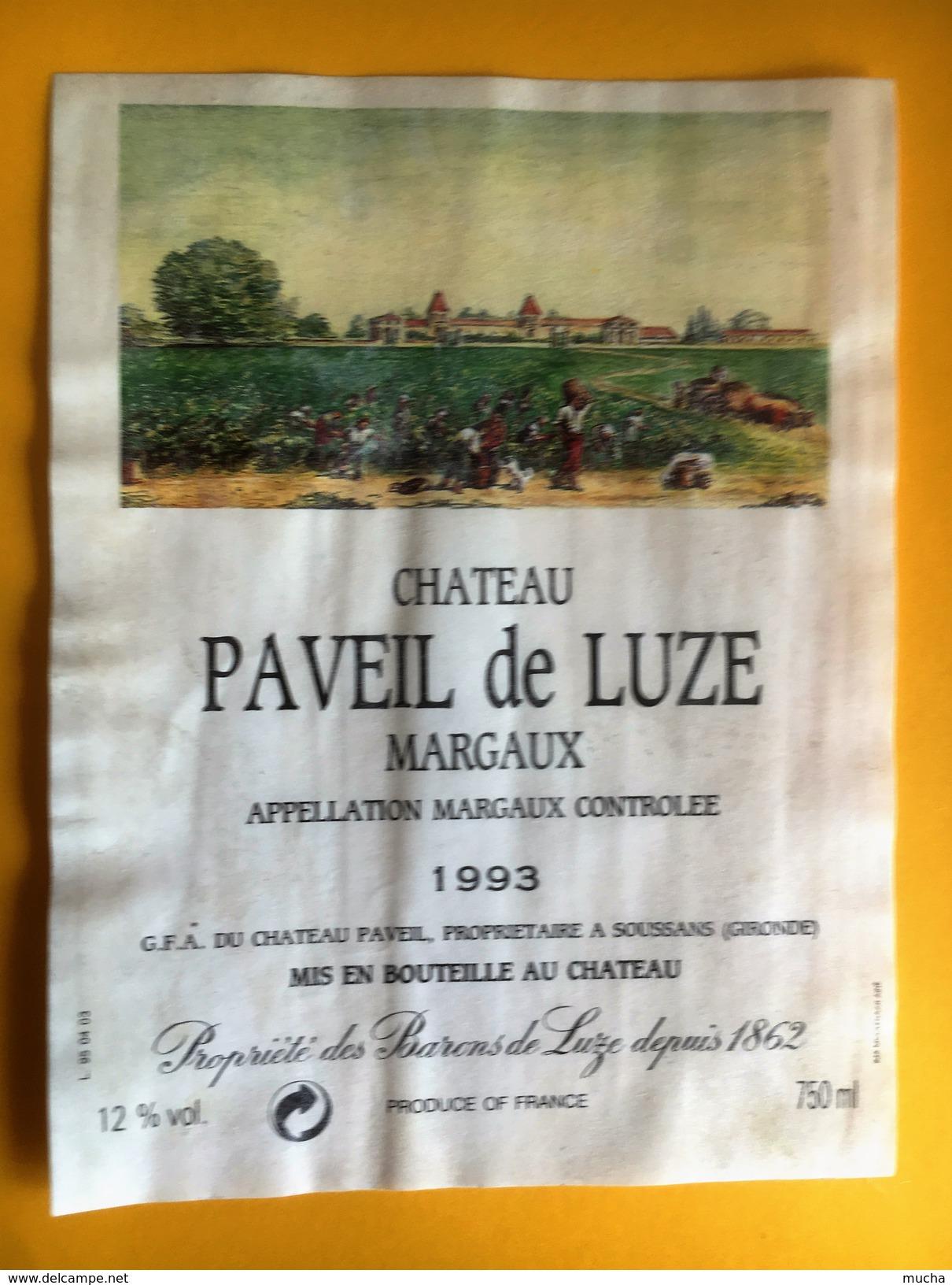 2239 - Château Paveil De Luze 1993 Margaux - Bordeaux