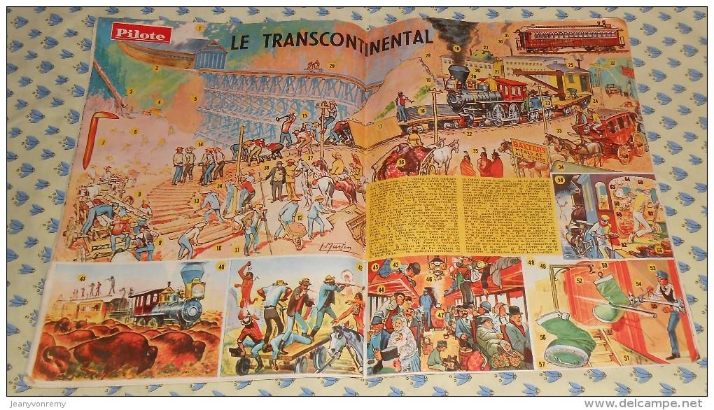 Pilote. N°183 (25/04/1963) Complet. Anne–Marie Peysson Et Francois Janin Deviennent Vos Copains - Pilote