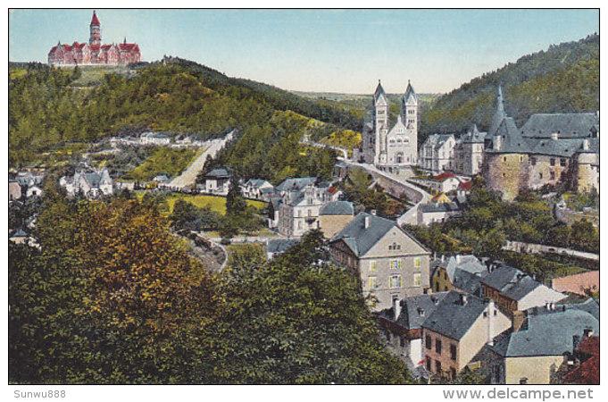 Clervaux Et L'Abbaye (colorisée, Kühlen) - Clervaux