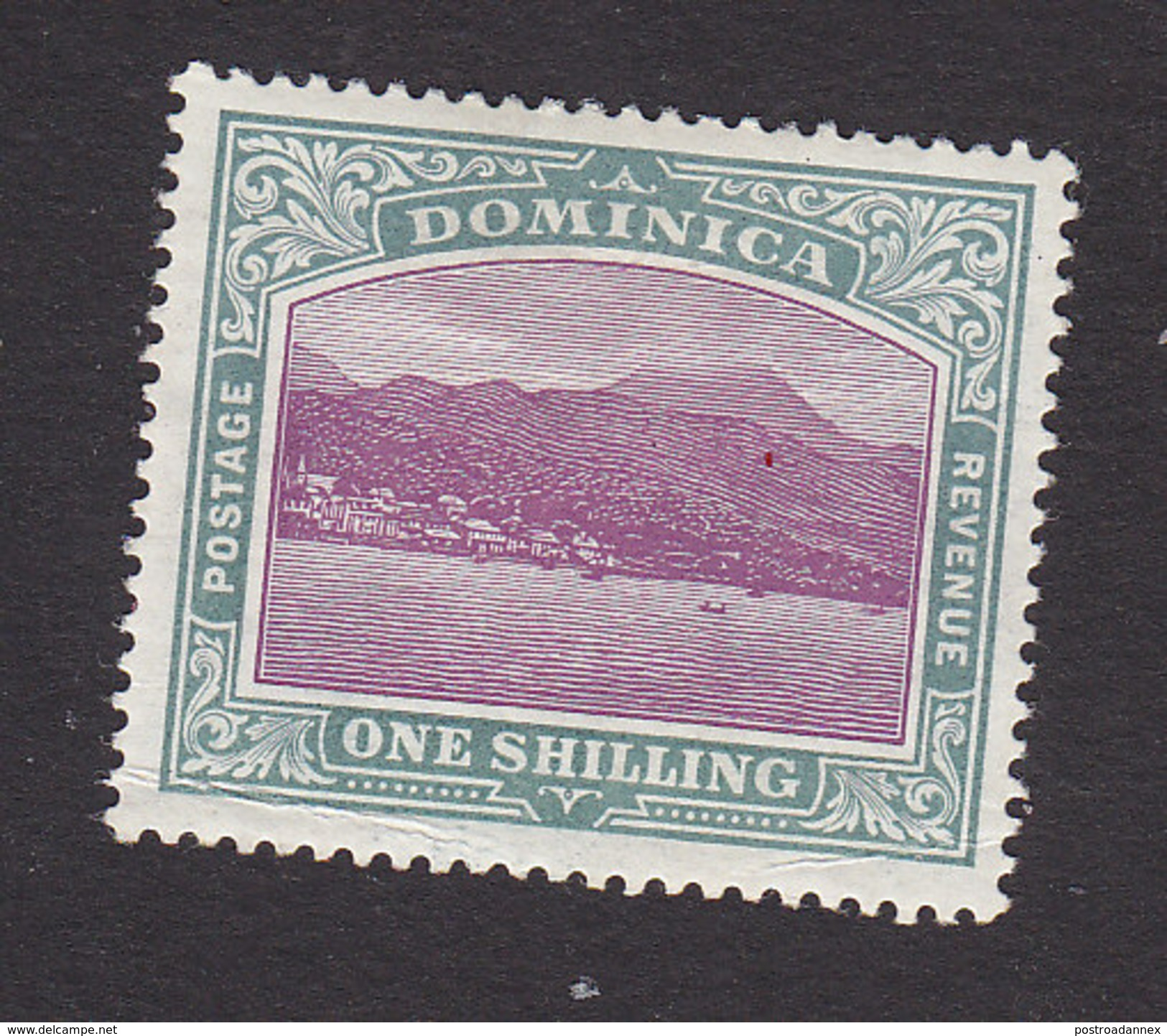 Dominica, Scott #31, Mint Hinged, Roseau Capital Of Dominica, Issued 1903 - Dominica (...-1978)