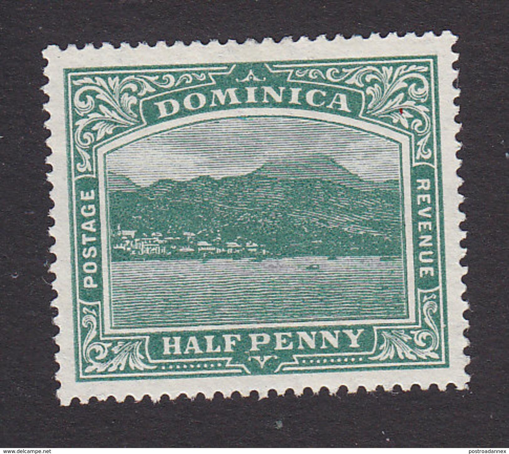 Dominica, Scott #50, Mint No Gum, Roseau Capital Of Dominica, Issued 1908 - Dominica (...-1978)