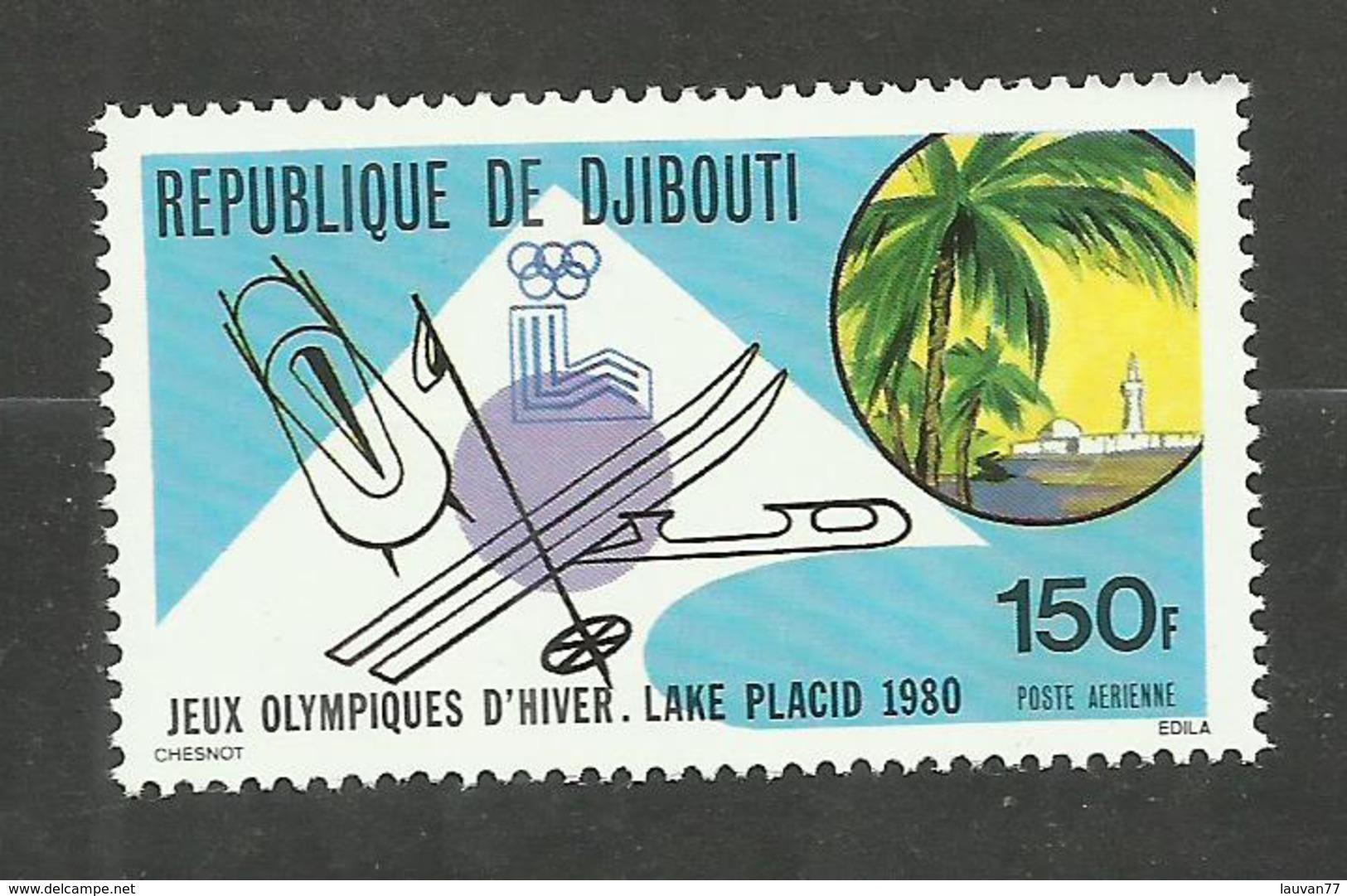Djibouti POSTE AERIENNE N°134 Neuf** Cote 3.10 Euros - Yibuti (1977-...)