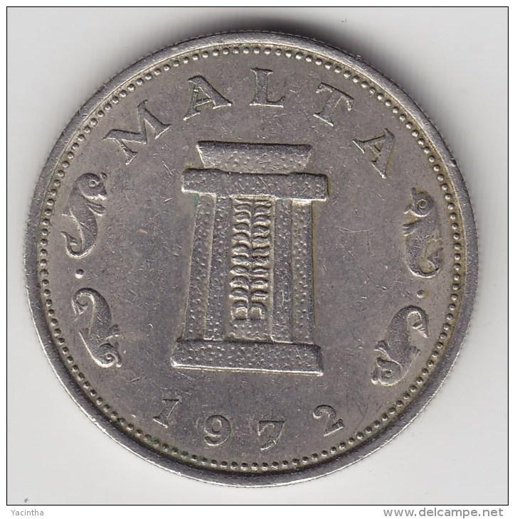 @Y@   Malta  5 Cents  1972  (3354 ) - Malta