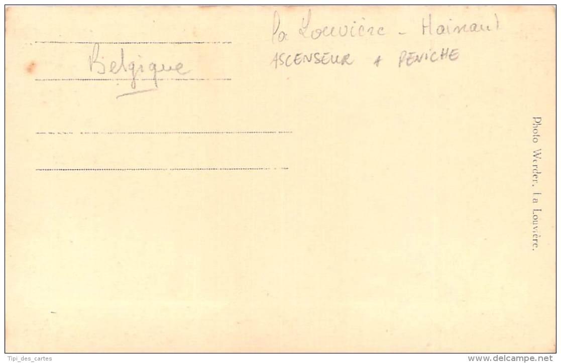 Belgique - La Louvière - Carte Photo De L'Ascenseur Hydrolique à Bateau Péniche, Canal Du Centre Historique, - La Louvière