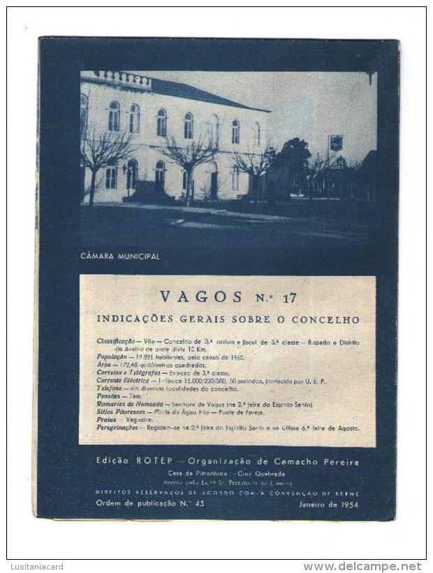 VAGOS - ROTEIRO TURÍSTICO (Ed. Rotep Nº 45 - 1954) - Livres, BD, Revues