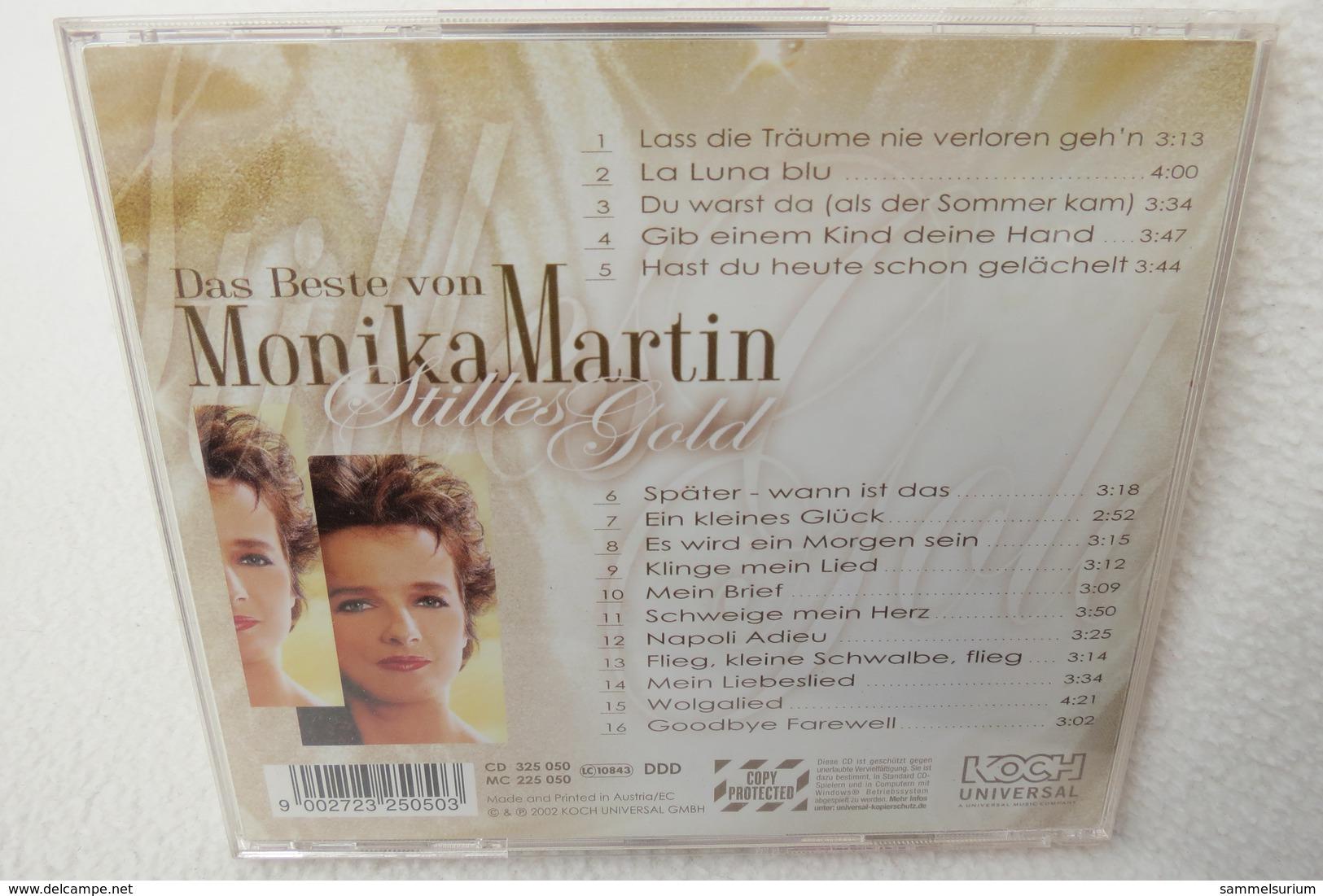 """CD """"Monika Martin"""" Das Beste Von Monika Martin, Stilles Gold - Musique & Instruments"""