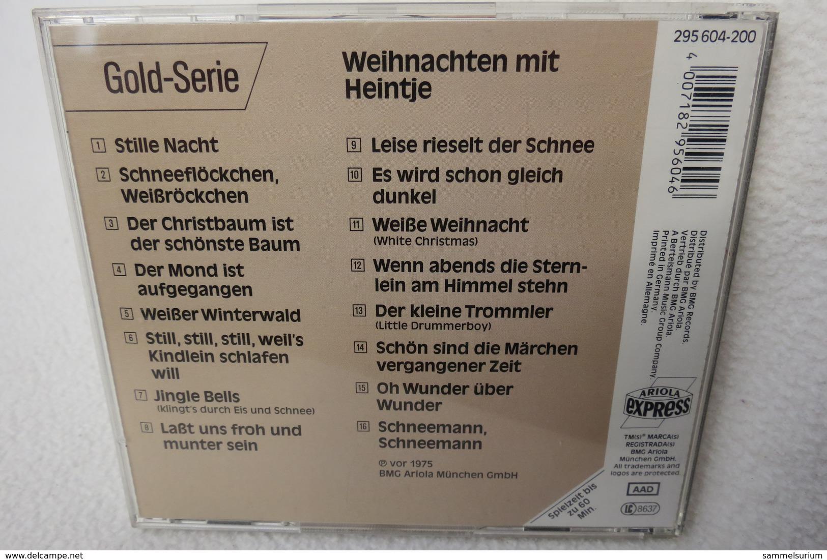 """CD """"Heintje"""" Weihnachten Mit Heintje - Weihnachtslieder"""